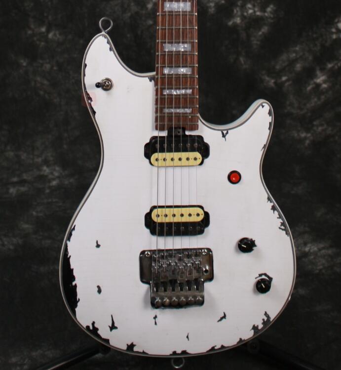 Coréenne usine professionnel Main Relique S-EVH wolfgang guitare électrique humbucker micros micro simple