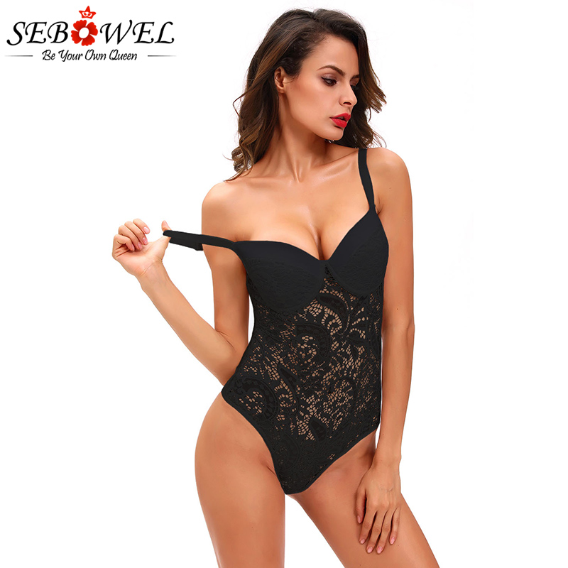 Black-Sexy-Push-up-Lace-Teddy-LC32058-2-13