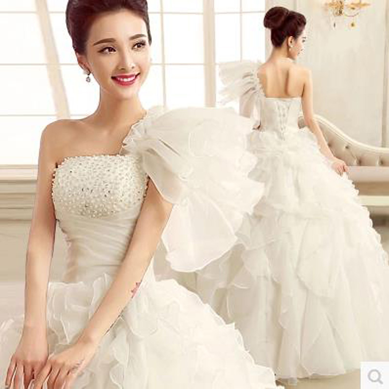 Online get cheap white blue wedding dress for White wedding dresses cheap