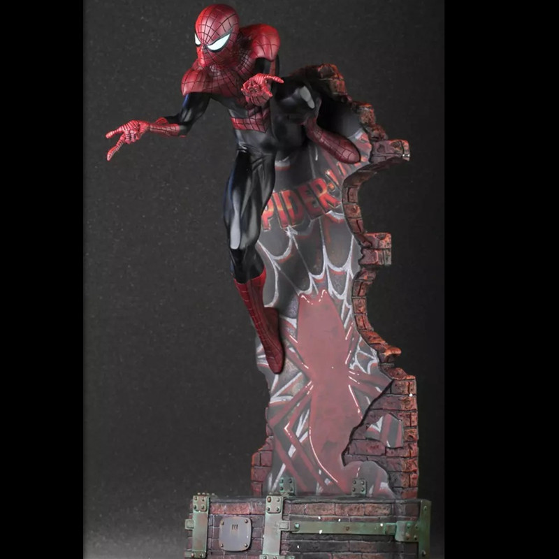 20'' Anime Crazy Toys Spider man The Amazing Spider man Superhero Cartoon PVC Action Figure Collectible Model Toy 2 Styles L511 spiderman toys marvel superhero the amazing spider man pvc action figure collectible model toy 8 20cm free shipping hrfg255