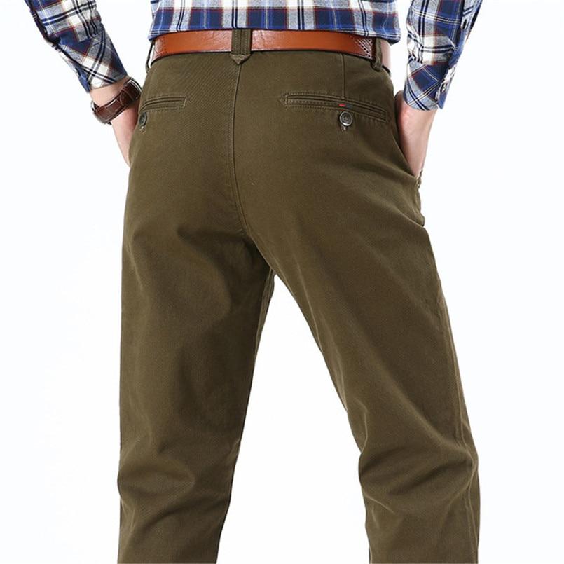 NIANJEEP Herren Hosen Casual Taschen Baumwolle Cargo Pants Männer - Herrenbekleidung - Foto 4