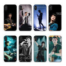 Hit pop singer Shawn Mendes Magcon Soft Silicone Back phone case Cover for iPhone XS XR XSMAX 7 7plus 8 8plus 6 6plus coque