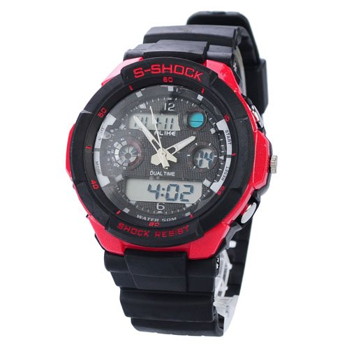 Free Shipping + Dropship China Cheap Men Women Sports 50M Waterproof Digital Watches Cheap ...