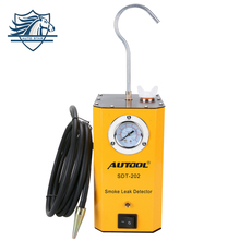 New Look AUTOOL SDT-202 Car Smoke Machines For Sale For Cars Leak Locator Automotive Diagnostic Leak Detector SDT202