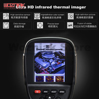 Wozniak Mobile phone motherboard BGA infrared diagnostic instrument for iPhone Fault detection Computer PC PCB thermal imaging