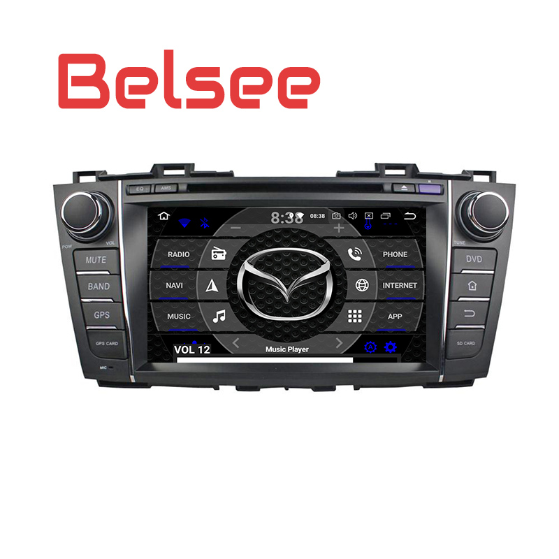 Belsee for Mazda 5 2009 2013 Car Stereo Android 8 Radio Octa Core PX5 GPS Navigation Head Unit Autoradio DVD Player Bluetooth