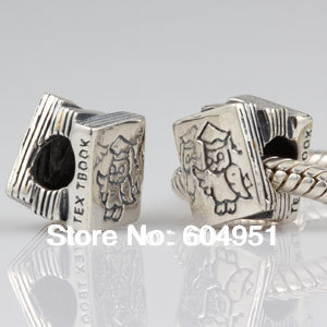29a770230419 1 unids lote al por mayor Plata de Ley 925 texto Cuentas fit Pandora style pulseras  joyería