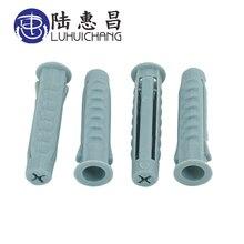 Luchang вилка пластиковая труба колонна Расширительная трубка винтовая якорная заглушка настенные вилки