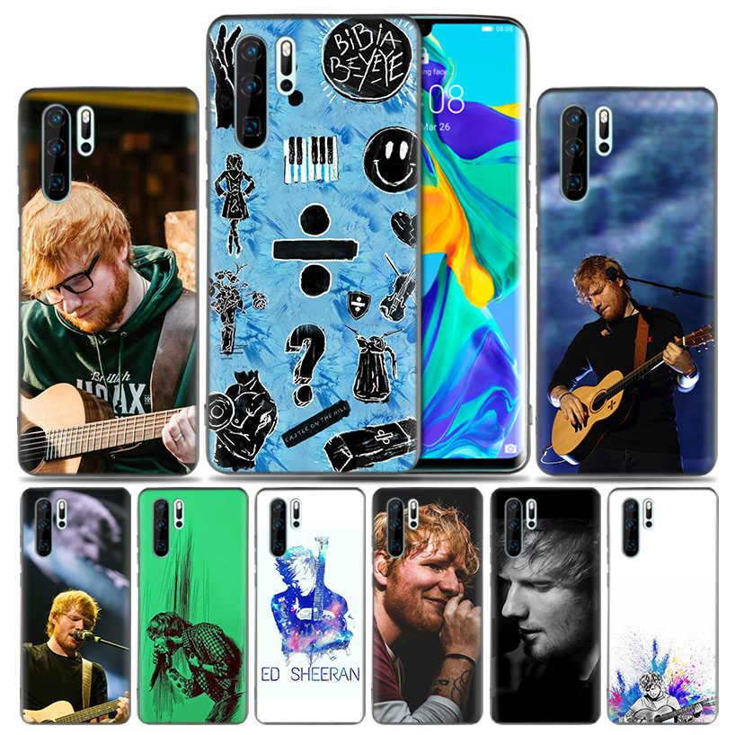 La cantante de Pop Star Ed Sheeran de silicona caso de Huawei P30 P20 amigo 20 10 Pro P10 lite P Smart + Plus + Z 2019 Nova 5 5i cubierta
