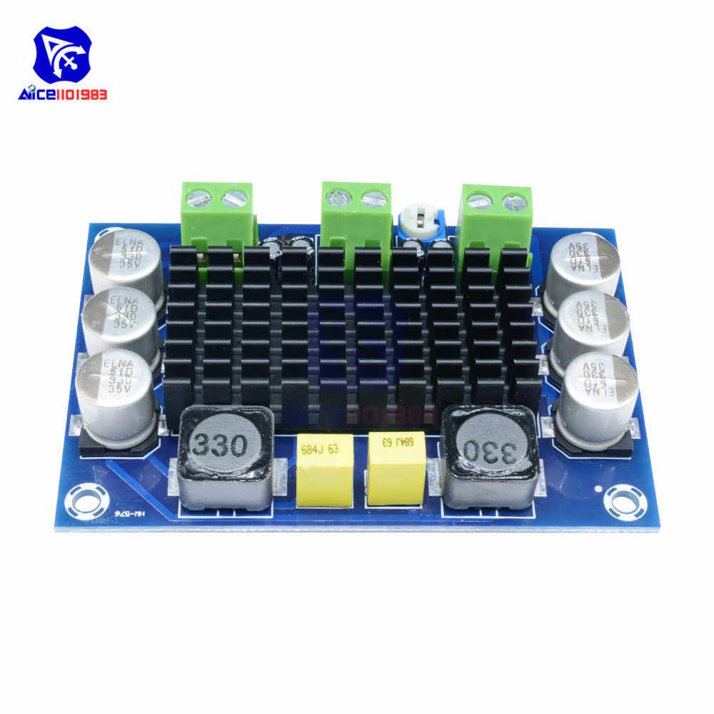 TPA3116 D2 TPA3116DA DC 12-24 V 100W Mono canal numérique puissance Audio carte TPA3116D2 carte de grande capacité