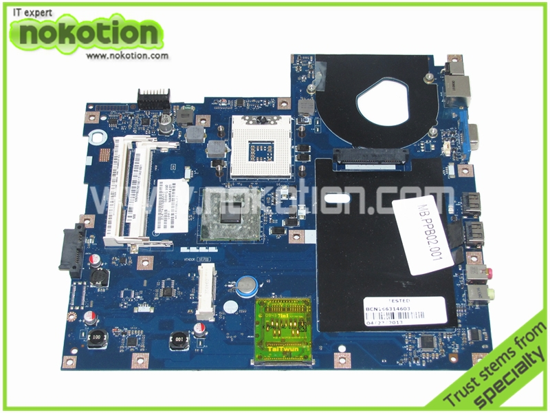 NAWF3 LA-4854P MBPPB02001 Laptop motherboard for ACER ASPIRE 5332 mainboard full tested