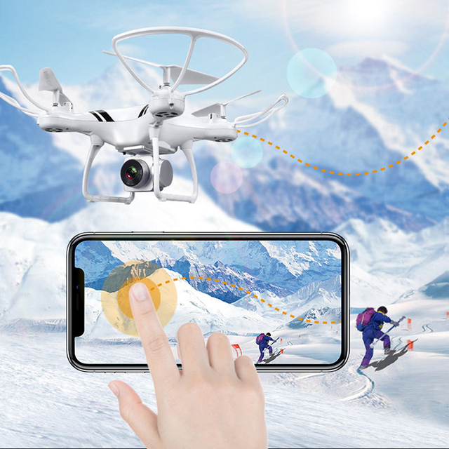 KY101S RC Drone With Camera HD Wifi FPV Altitude Hold One Key Return Landing Off Headless RC Quadcopter Drone Long Flight Time 2