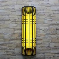 modern outdoor lighting Vertical courtyard lamp outdoor wall lamps garden light T5 led or fluorescent tube hotel wall sconce