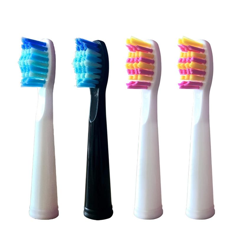 Têtes de brosse pour recharges de brosse à dents sonique pour étui de Protection de SG-958 Fairwill FW-507 KI-508