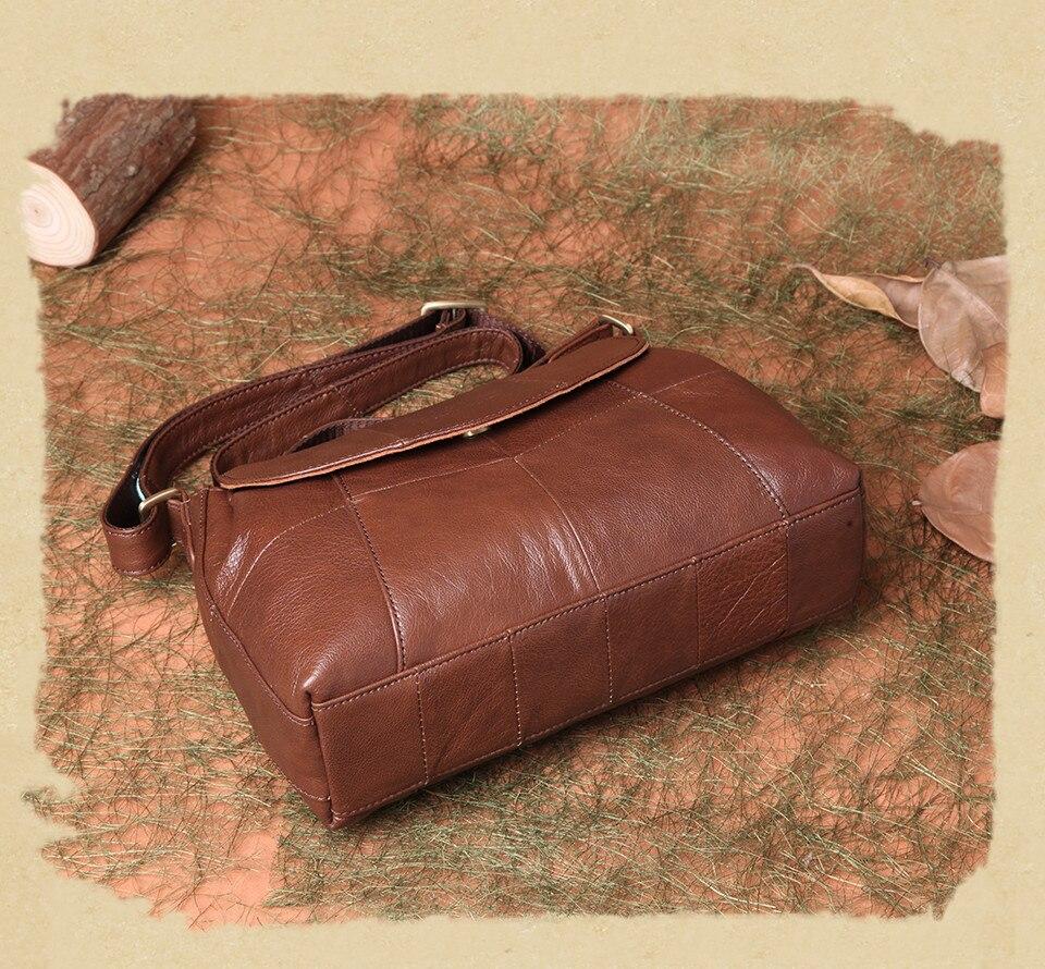 bolsas حقائب الكتف النسائية جلد طبيعي العلامة التجارية 12