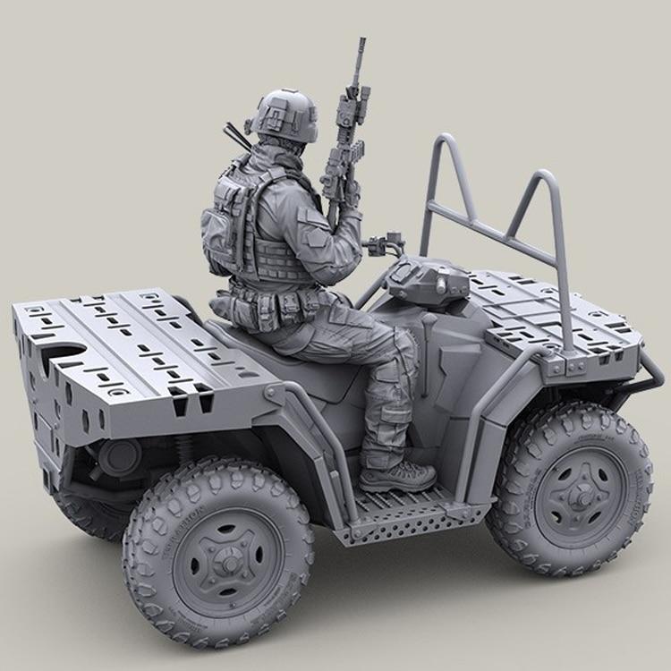 1//35 Essen Cruber Combat Robot Resin Model Kits Unpainted YuFan