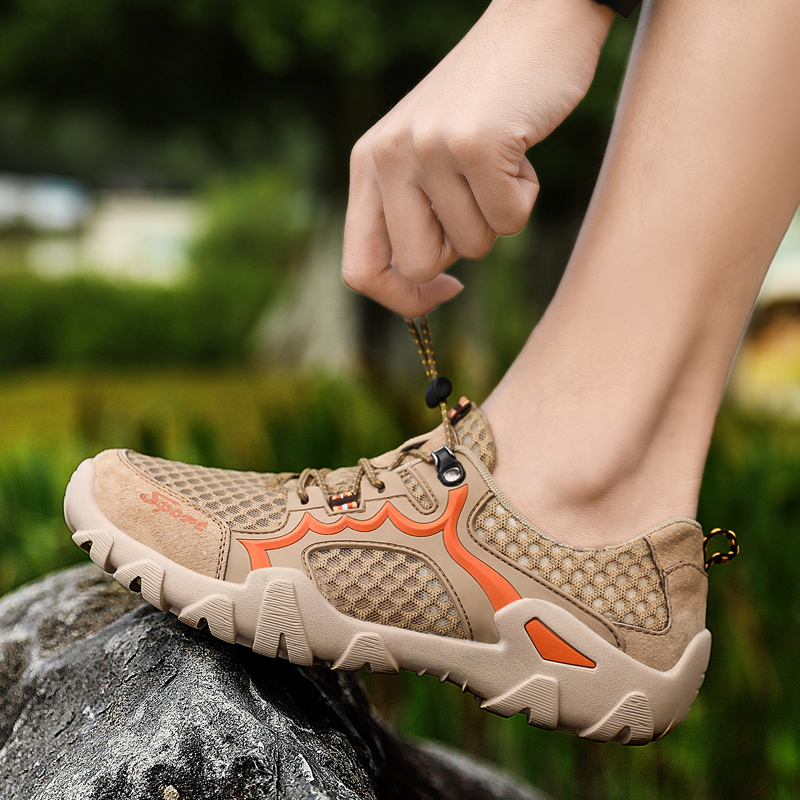Men Hiking Camping Shoes Summer Outdoor