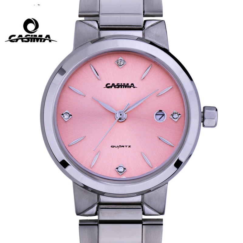 цена  Casima Ladies Watches Top Brand Luxury Watch Women Fashion Waterproof Quartz Wrist Watch Womens Clock Hours Relojes Mujer 2017  онлайн в 2017 году