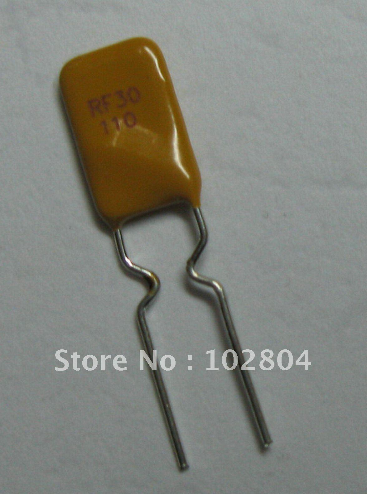 50 шт. 30 в 1.1A PolySwitch радиальный этилированный восстанавливаемый предохранитель PPTC