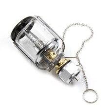 Lámpara portátil de Metal para acampar al aire libre, farol de Gas de plástico, linterna de noche, lámpara colgante, chimenea, luz de emergencia butano