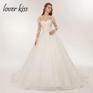 e2f32d8578 lover kiss Bride Dress Wedding Dress 2018 vestido de noiva
