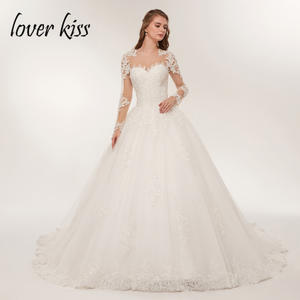 lover kiss Wedding Dress 2018 Bridal Gowns vestido de noiva 530c94088587