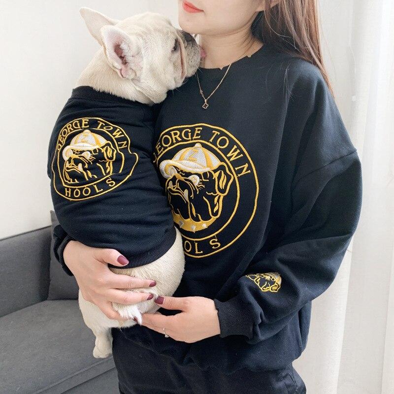 Roupas para cães pequenos algodão jaqueta para