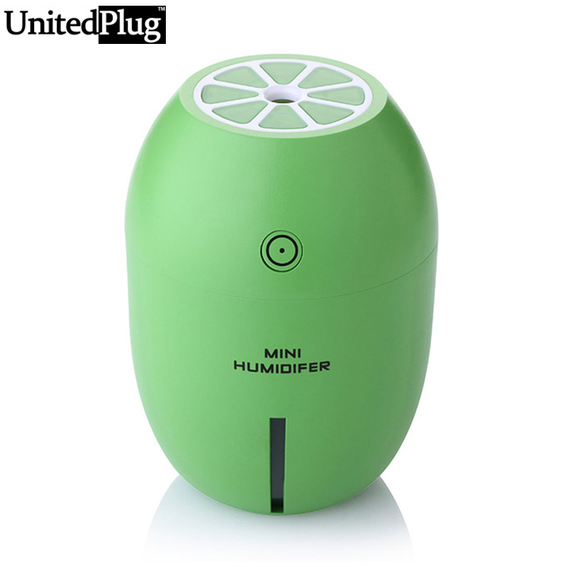 UnitedPlug mini Limon Air Humidifier Personal essential oil diffuser for Car and Home Using LM-001