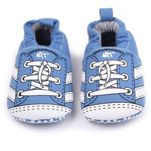 1Pair High Quality Baby Boys Girls Soft Toddler Shoes Back E