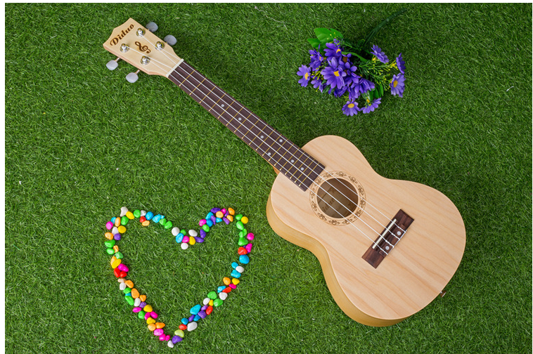 free shipping 21 s small sand ukulele guitar to boys and girls gift
