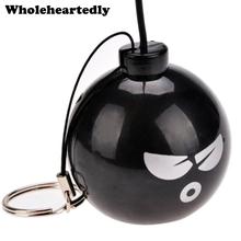Promocja! Czarny śliczne przenośny Mini głośnik bomby MP3 Audio muzyka telefon komórkowy 3 5mm Jack głośnik wzmacniacz komputery hurtownie tanie tanio Brak Pełny Zakres Z tworzywa sztucznego Baterii Metal 100 hz-20 khz JUM019709 Przenośne WHOLEHEARTEDLY 3 (2 1) 4cm 1 6inch