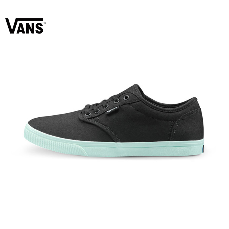 Original Vans New Arrival Black Color Low-Top Women s Skateboarding Shoes  Sport Shoes Canvas Sneakers c20689e7a446