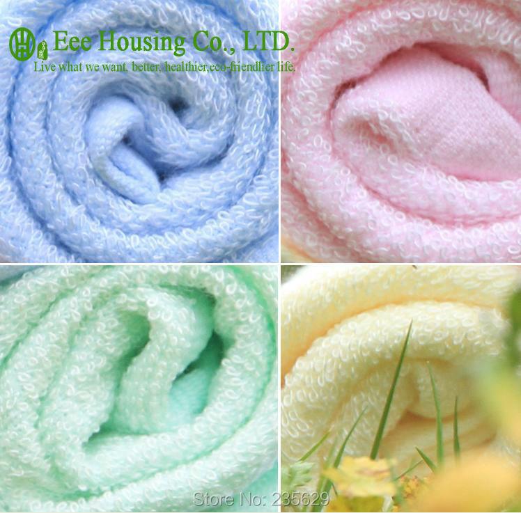 26cm*26cm Square Bamboo Fiber Hand Towel ,anti-bacterial Bamboo Square Towel,Sent Randomly, 32g, Eco-friendly