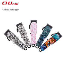 CHJ Colorful Hair Clipper Rechargeable Electric USB Trimmer Men Professional Haircut Machine Salon Hairdressing Tools
