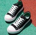 De alta calidad de los hombres zapatos casuales zapatos de lona Clásicos Masculinos modelo de zapatos planos