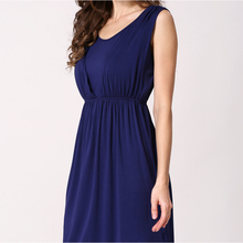 Breastfeeding Sleeveless Maternity Dresses