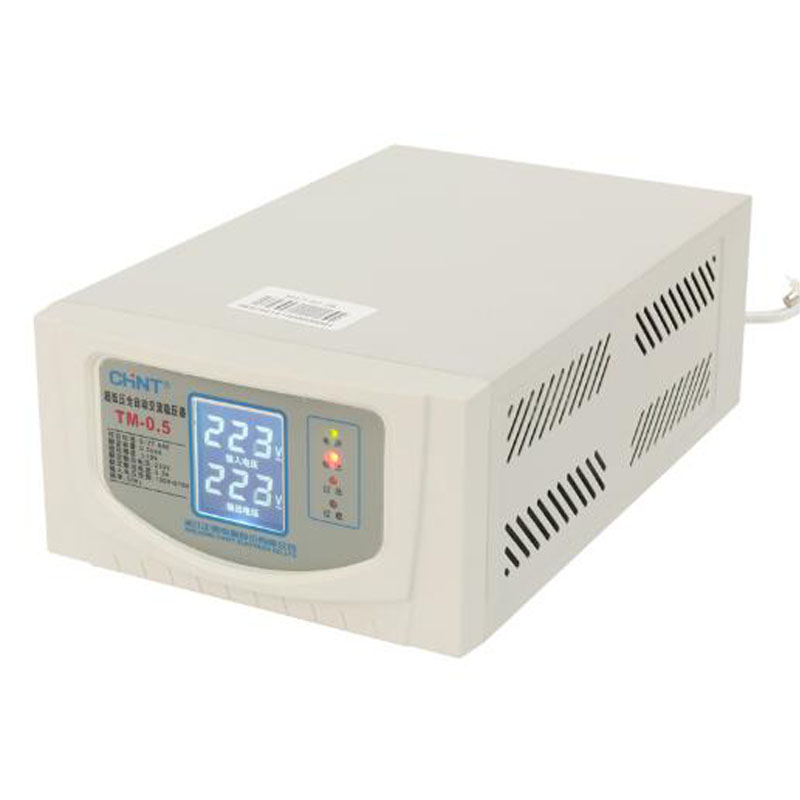 500VA Single Phase AC Voltage Stabilizer 500w Electronic Regulator Copper Household Fully Automatic Voltage Regulator TM-0.5500VA Single Phase AC Voltage Stabilizer 500w Electronic Regulator Copper Household Fully Automatic Voltage Regulator TM-0.5
