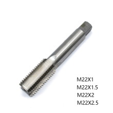 1PC M22 HSS Tap Straight Flute Machine Tap M22X2 M22X1 M22X1.5 Metric Tap Drill Thread Die Tap Right Screw Plug Hand Tool