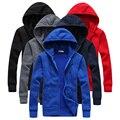 2016 Hot sale Mens Hoodies and Sweatshirts autumn winter lovers casual with a hood jacket men coat hoodie men size S-XXL