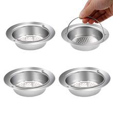 4 Pieces Stainless Steel Kitchen Sink Strainer with Protection of Small Trash Drain Strainer Basket Filter Screen Drop Shopping