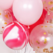 15pcs/lot round baloon mixing color balons children ballons decoration birthday anniversaire ballon baby shower