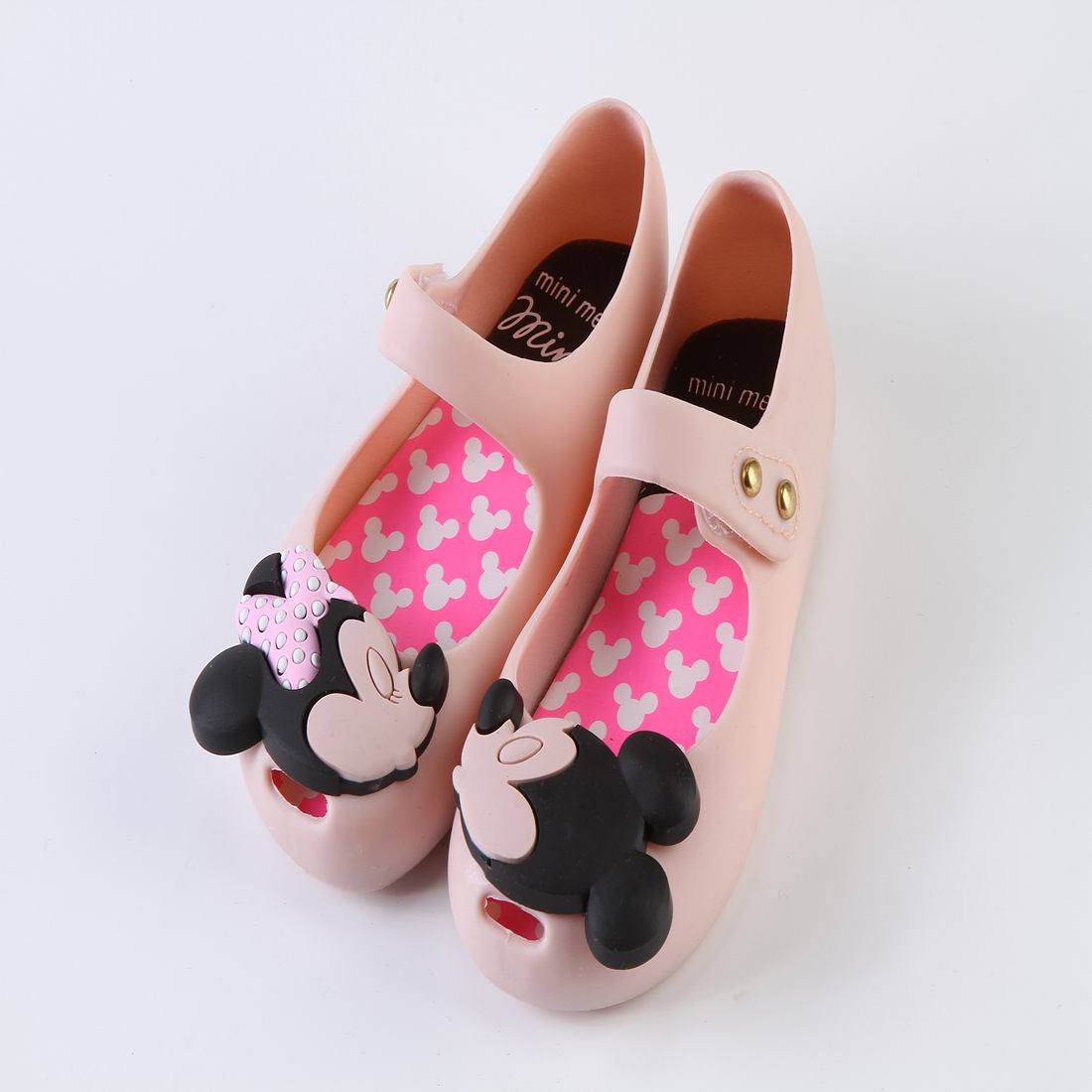▻Mini Melissa Girls Shoes Mickey And Minnie New Style Kid Shoe ...