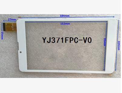 New 7. inch tablet capacitive touch screen YJ371FPC-V0 free shipping