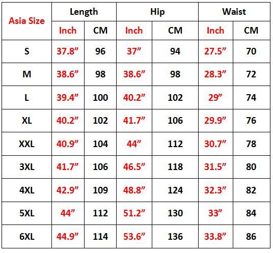 6XL Long Pant