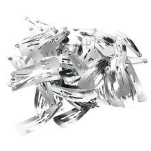 Лот из 50 серебряных зажимов для волос 40 мм-in Заколки и шпильки для волос from Красота и здоровье on Aliexpress.com | Alibaba Group