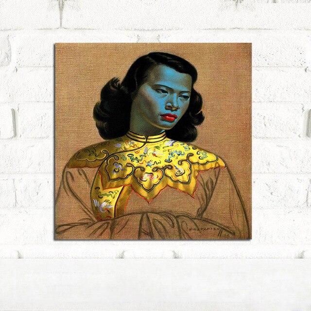 Us 779 22 Offchińska Dziewczyna Tretchikoff W Stylu Vintage Obraz Olejny Na Płótnie Plakaty I Reprodukcje Skandynawski Nordic ściany Obraz Do