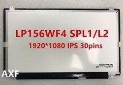 LP156WF4-SPL1 gratis LP156WF4 (SP)(L1) Matriz para portátil 15,6 FHD mate 1920X1080 IPS Panel de pantalla LED LP156WF4 SP L1