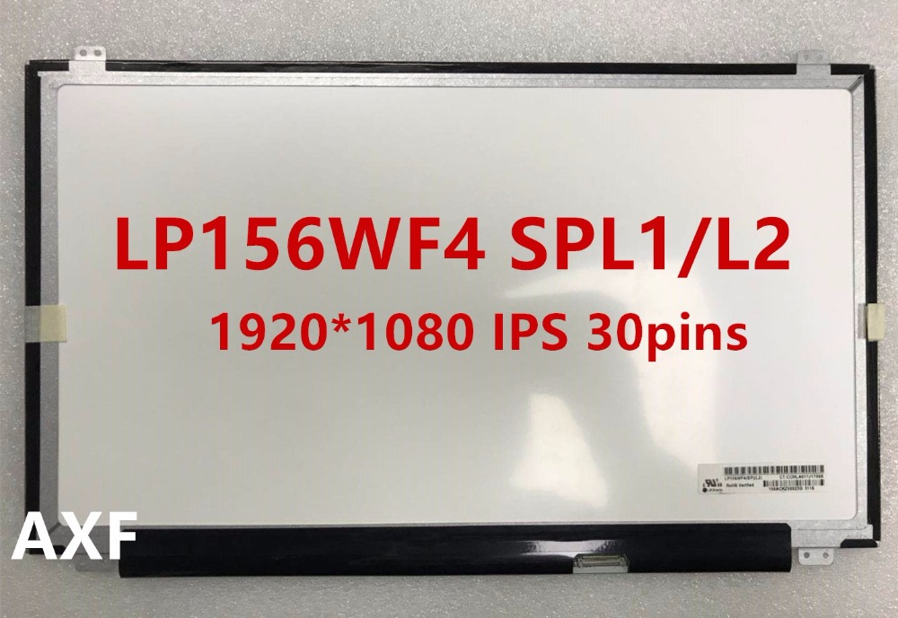 Special offer new LP156WF4 SPL1 LP156WF4 SPL2 IPS LCD 1920 * 1080 30pins Free Shipping offer wings xx2449 special jc australian airline vh tja 1 200 b737 300 commercial jetliners plane model hobby