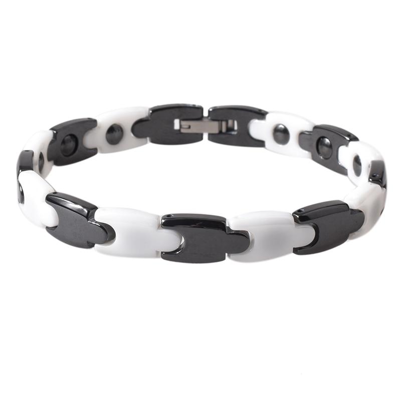 Argositment Fashion Jewelry Healing FIR Magnetic Titanium Bio Energy Bracelet For Blood Pressure Accessory