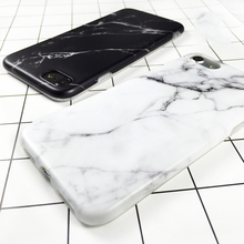 LOVECOM Granite Stone Marble Texture Pattern Case For iPhone XS Max XR XS 6 6S 7 8 Plus X Thin Soft IMD Phone Cases Cover Coque